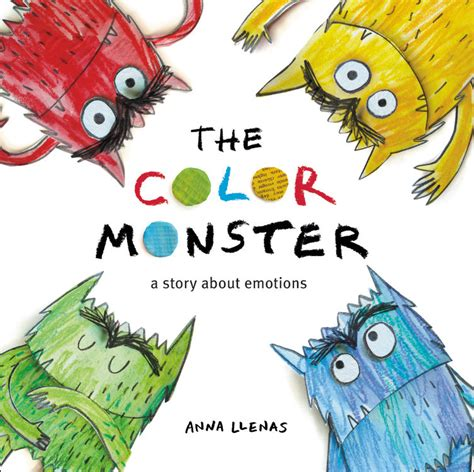 monsters colors the color by llenas brown books for