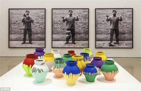 Ai Weiwei Dropping Vase by February 2014