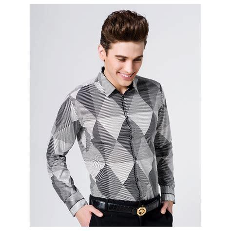 konsep pakaian stylish elegent lelaki jual kemeja pria lengan panjang model terbaru