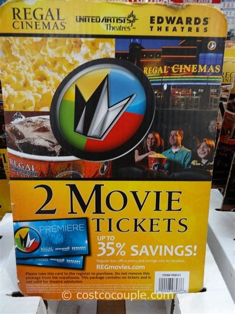 Theatre Tickets Gift Card - regal cinemas movie ticket gift card