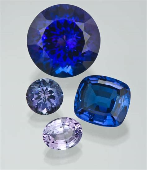 what color is tanzanite the four c s for tanzanite s jewelry