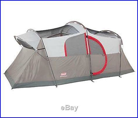 coleman weathermaster 6 person 2 room tent coleman weathermaster 10 person 2 room family cing tent w led light system cing tents