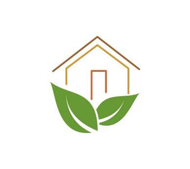 house logo design vector vector green leaf house logo download vector logos free