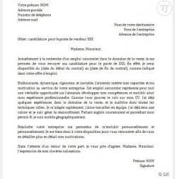 Exemple De Lettre De Motivation Pour Un Emploi En Tant Que Vendeuse Lettre De Motivation D 233 T 233 Application
