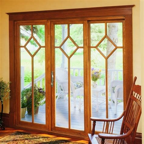 Wood Sliding Patio Door by All Wood Sliding Patio Doors Interior Home Decor