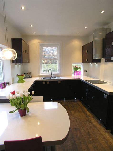 beautiful pot lights in kitchen ceiling taste modern aubergine kitchen accessories like pot and