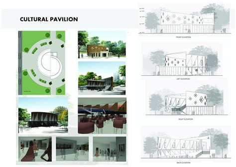 pavilion concept cultural pavilion architecture concept design student