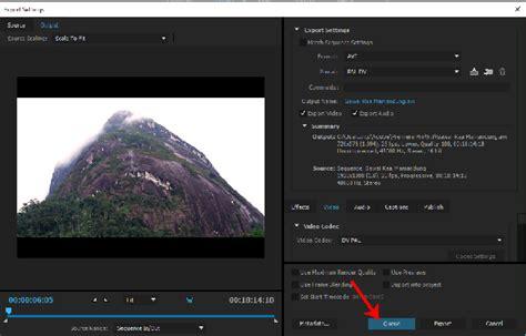 cara mengekspor video dari adobe premiere pro cara rendering video pada premiere pro menggunakan adobe