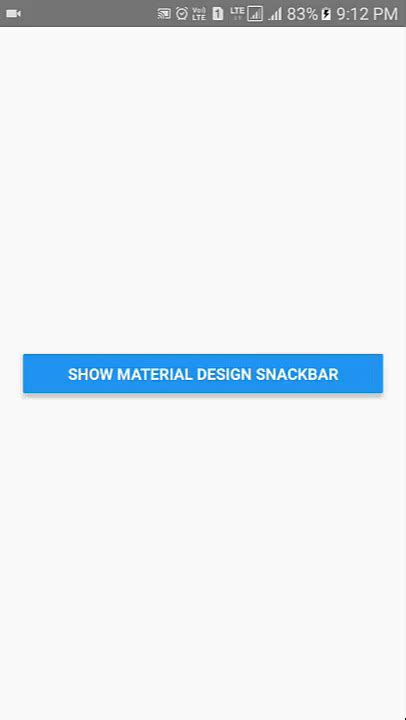 layout animation android react native react native create material design snackbar in android