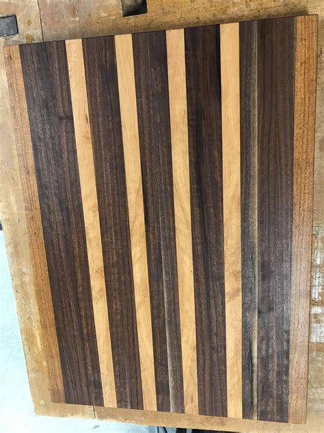 cutting board family woodworking