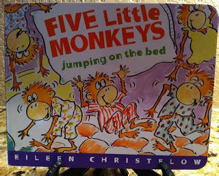 4 little monkeys jumping on the bed stacy s jensen perfect picture books five little