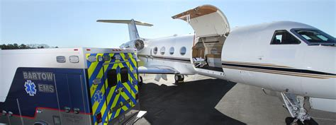 dedicated gulfstream air ambulance phoenix air