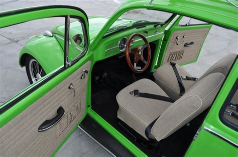 volkswagen beetle modified interior 1966 volkswagen beetle custom 2 door sedan 130433