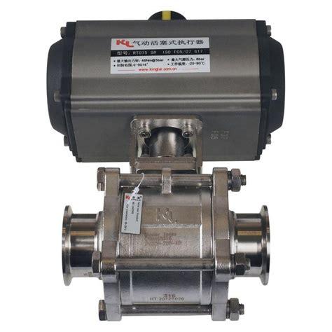 Valve Tri pneumatic valve tri cl 2 inch ss316 ptfe