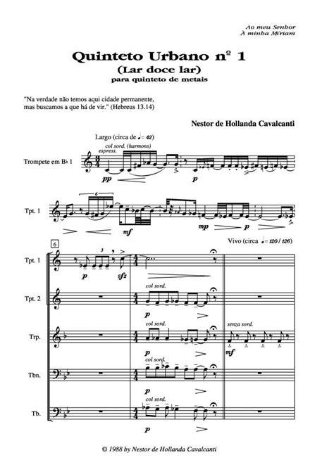 Nestor de Hollanda Cavalcanti - Quinteto Urbano Nº 1 (Lar