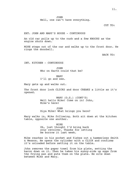 Screenplay Wikipedia Screenplay Format Template