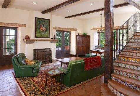 interior design family room mexican family room interior design with green sofa