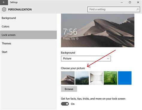 how to lock themes in windows 7 change theme lock screen wallpaper in windows 10
