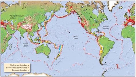 earthquake occur where and why do earthquakes occur learning geology