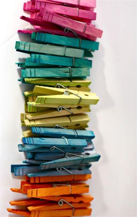 color pin colored clothes pins c r a f t kool