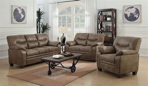 Brown Living Room Sets Meagan Brown Living Room Set 506561 62 Coaster Furniture