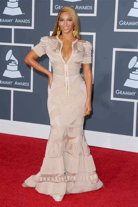 Which Grammy Look Was Most Fab by Grammys Fug Or Fab Beyonce Go Fug Yourself