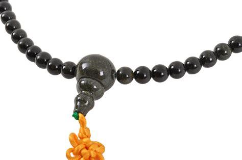 Stone Buddhist Mala, Necklace