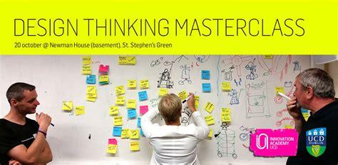 design thinking masters design thinking innovation masterclass