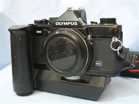 olympus om 2 olympus om 2 black professional slr with winder 2