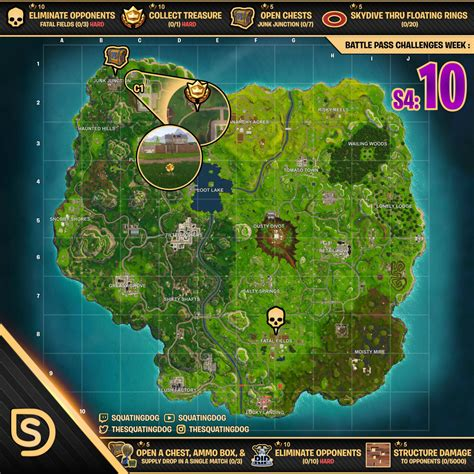 fortnite week 3 challenges week 3 challenges sheet how to guide for fortnite