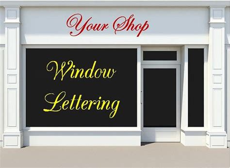 Window Decals For Business by Custom Vinyl Window Decals For Business By