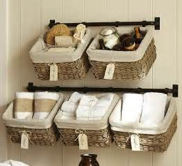 Bathroom storage ideas baskets bathroom towel storage ideas