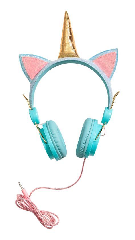 Earphone H unicorn headphones hnm trending fashion diy food