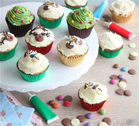 cheap xmas bun ideas cupcakes recipe food