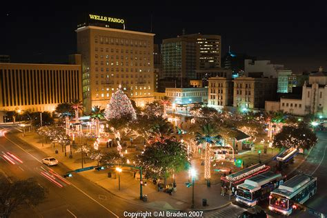 downtown el paso christmas lights lights at san jacinto plaza the of downtown el paso al braden photography