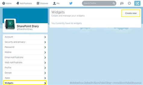 how to integrate twitter with sharepoint to get twitter