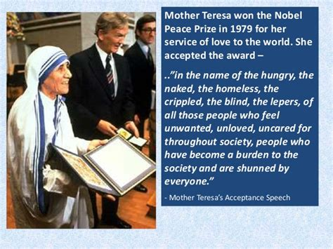 mother teresa nobel peace prize biography in hindi mother teresa goddess for the mankind