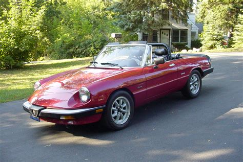 spider ls for sale alfa romeo spider 1 6 1982