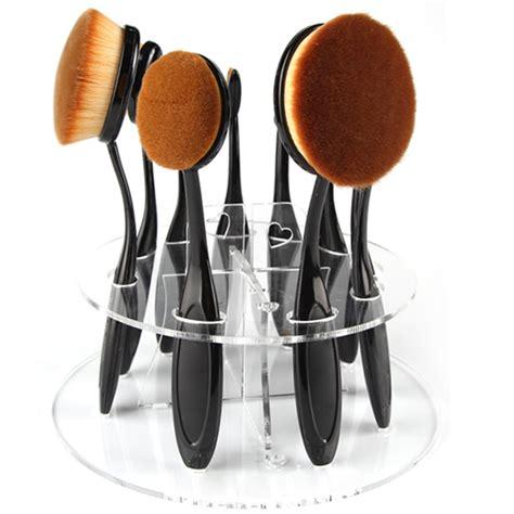Makeup Brush Holder Set oval brush holder my make up brush set us