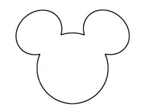 mickey mouse template diy mickey string this tale