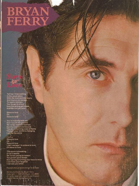 lyrics bryan ferry bryan ferry quot to quot lyrics