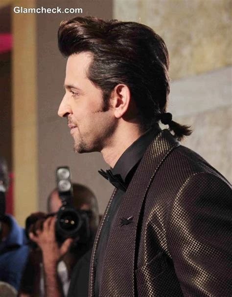 hrithik roshan hairstyle in znmd hritik roshan s new hairstyle sports a ponytail at gq