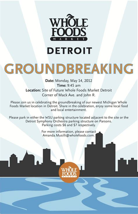 Groundbreaking Ceremony Invitation Templates by Groundbreaking Invite Parking Schussing Ground Breaking