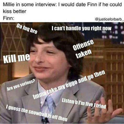 Www Memes - 105 best finn wolfhard meme prince images on pinterest meme memes humor and movie