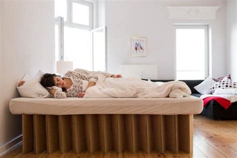 cardboard bed cardboard beds offering simple and light furniture design