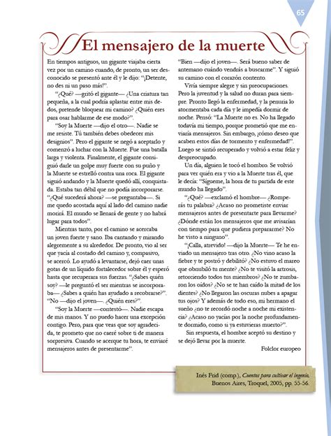 pdf libro de texto muerte a credito descargar espa 241 ol sexto grado 2017 2018 libros de texto online p 225 gina 65