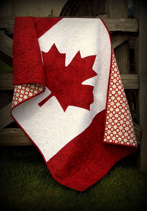 Baby Quilts Canada by Canada Baby Quilt Canadian Flag National Pride By