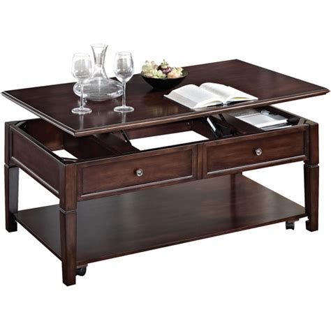 malachi lift top coffee table walnut walmart