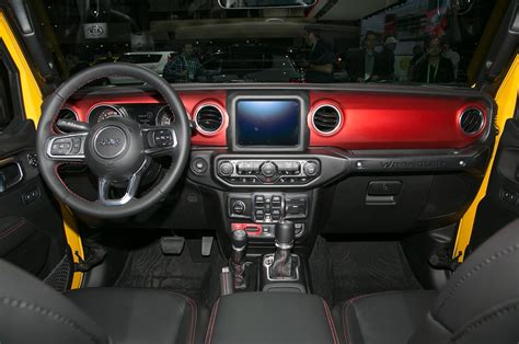 jeep dashboard how would you spec your ideal 2018 jeep wrangler motor