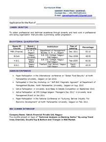 Best resume format for freshers accountant Home Design Ideas and Design Ideas